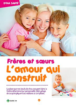 Article Parents Conscients - Frères et soeurs l'amour qui construit