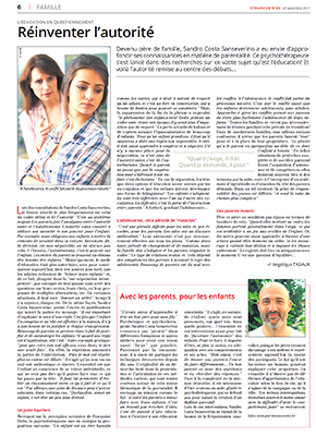 Article Parents Conscients sprl - Reinventer-l'autorite-